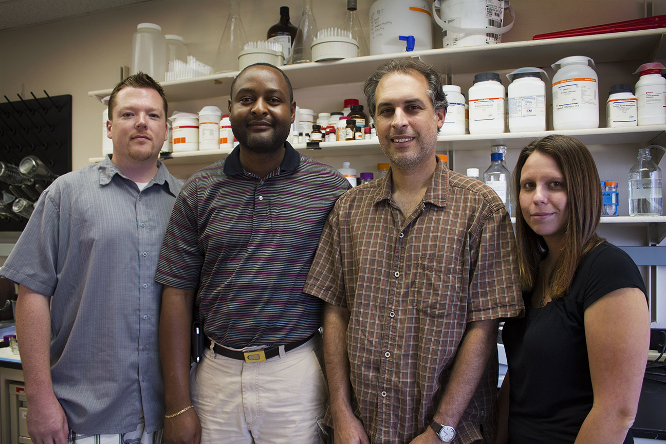 Bryce Chackerian, Ph.D., and team.
